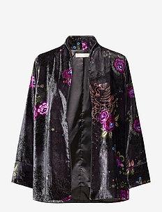 Vera Kimono - kimonos - asphalt