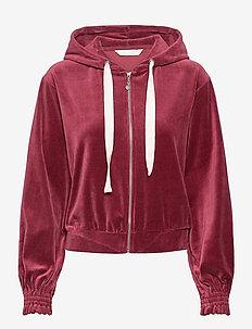 Marion Hood Sweater - hoodies - baked burgundy