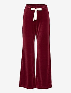 Marion Pants - sweatpants - baked burgundy