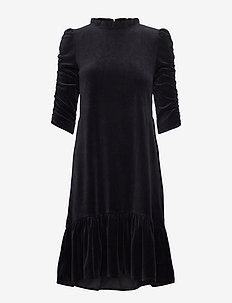 Marion Dress - midiklänningar - almost black