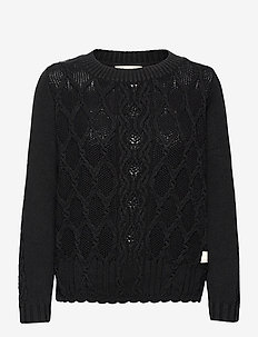 Alessandra Sweater - vesten - almost black