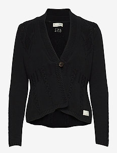 Alessandra Cardigan - cardigans - almost black
