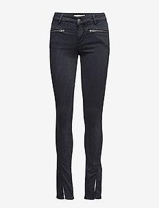leg-endary slits jeans - BLUE BLACK