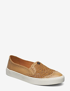perfect punch slip-in sneaker - LIGHT CHAMPAGNE