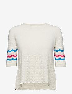 soft pursuit sweater - CHALK