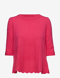 soft pursuit sweater - HOT PINK