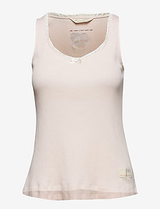 take a bow tank top - ORCHID PINK