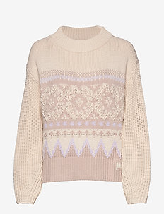 Magnetic Jacquard Sweater - offwhite