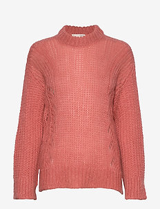 Comfort Oversized Sweater - jumpers - spicy red