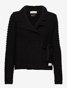 Wrap Up & Go Cardigan - ALMOST BLACK