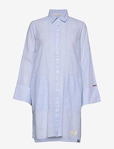 Electrifying Long Shirt - LUCKY BLUE