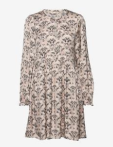 Sensational Short Dress - PEBBLE GREY