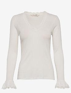 My Dearest One Top - basic t-shirts - light chalk