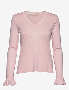 My Dearest One Top - basic t-shirts - purple dream