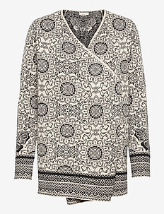 Nancy Long Cardigan - cardigans - porcelain