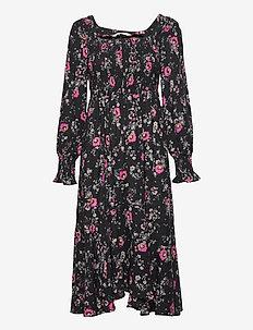 Lisa Dress - hverdagskjoler - pink multi