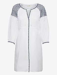 Jill Dress - sommerkjoler - bright white