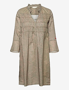 Judy Dress - sommerkjoler - faded cargo