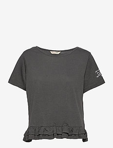 Sally Top - t-shirts - asphalt