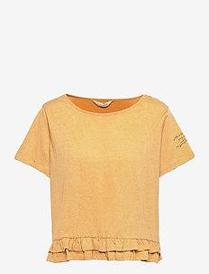 Sally Top - t-shirts - golden biscotti
