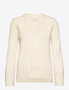 Joni Sweater - trøjer - chalk