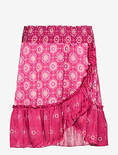 funky belle skirt - DARK RUBY