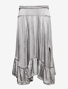 swing loose skirt - FADED CARGO