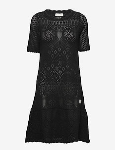 Caring Dress - ALMOST BLACK