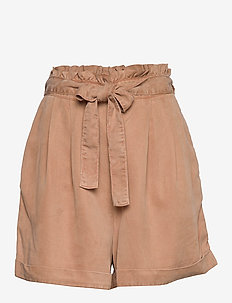 Tender Shorts - paper bag shorts - chocolate cream