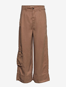 Tender Pants - pantalons larges - chocolate cream