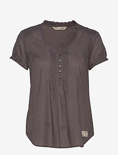 On Point Blouse - GREY