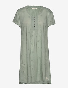 On Point Dress - washed cargo