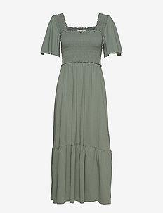 Peppy Dress - cargo green
