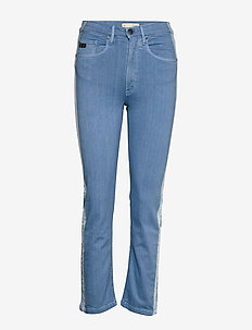 Chords Pants - slim jeans - spring blue