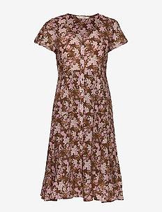 Memorable Dress - sommerkjoler - brown harmony