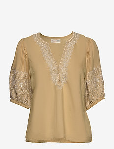 Dynamic Blouse - DUNE BEIGE