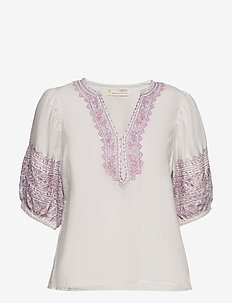 Dynamic Blouse - LIGHT CHALK