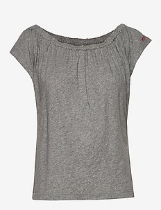 Dooer Top - light grey melange