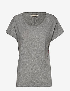 Dooer T-shirt - light grey melange