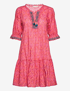 Isabelle Dress - sommerkjoler - living coral