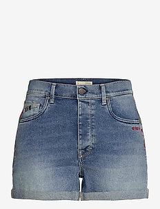 Ivy Shorts - denimshorts - light blue
