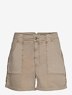 Heather Shorts - casual shorts - light taupe