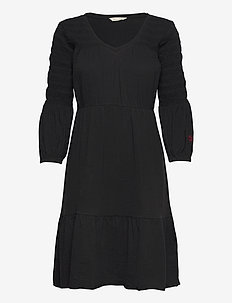 Gloria Dress - hverdagskjoler - almost black