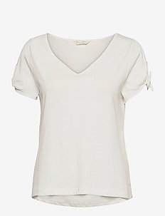 Kalei Top - t-shirts - light chalk