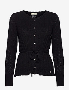 Laura Cardigan - cardigans - black