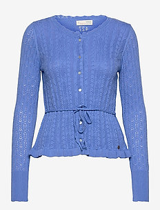 Laura Cardigan - cardigans - cornflower blue