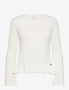 Laura Sweater - trøjer - light chalk