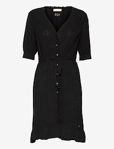 Laura Dress - sommerkjoler - black