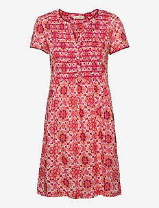 Myrtle Short Dress - sommerkjoler - pink fudge