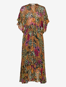 Flora Dress - sommerkjoler - apricot tan